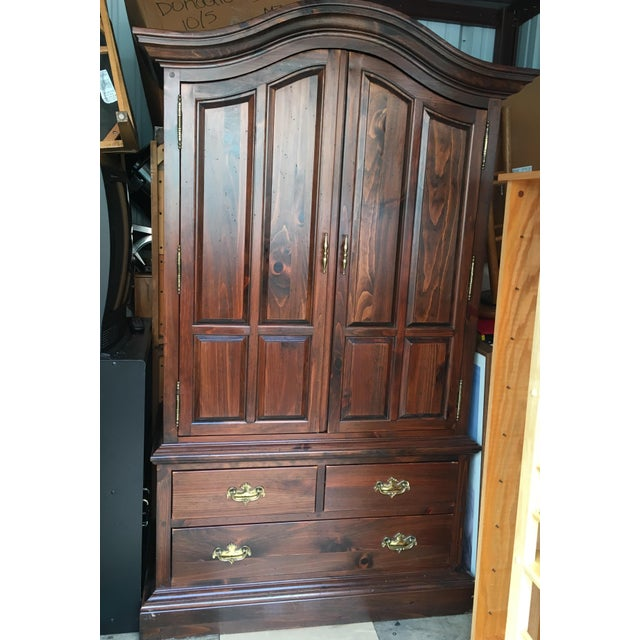 Ethan Allen Mahogany Armoire - Image 2 of 11