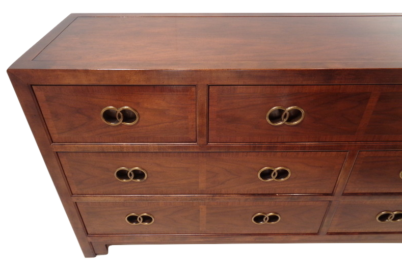 Wood Vintage Michael Taylor For Baker Furniture Drawer Chest For Sale    Image 7 Of 10