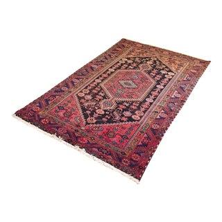Vintage Oushak Handmade Turkish Wool Rug - 4′4″ × 7′6″