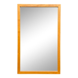 Vintage Pedersen & Hansen Teak Wall Mirror For Sale