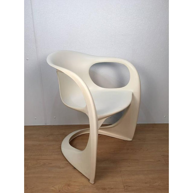 Fiberglass Off White Steen Ostergaard Chairs - Set of 6 For Sale - Image 7 of 8