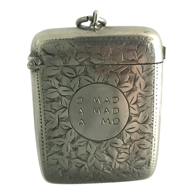 Late 19th Century Victorian Match Safe For Sale