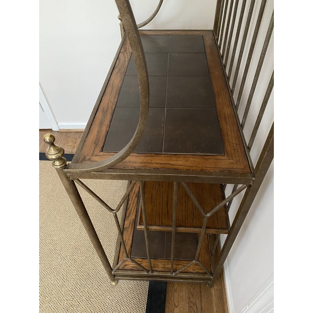 Spanish Drexel Bakers Rack For Sale In Washington DC - Image 6 of 9