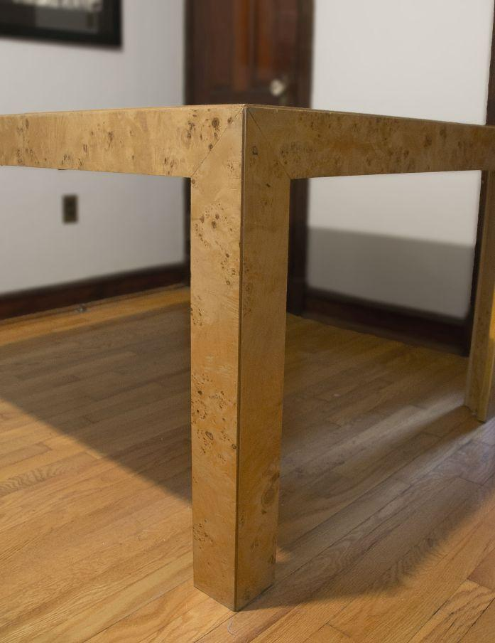 Delicieux Thomasville Burl Wood Parsons Expandable Dining Table   Image 3 Of 7