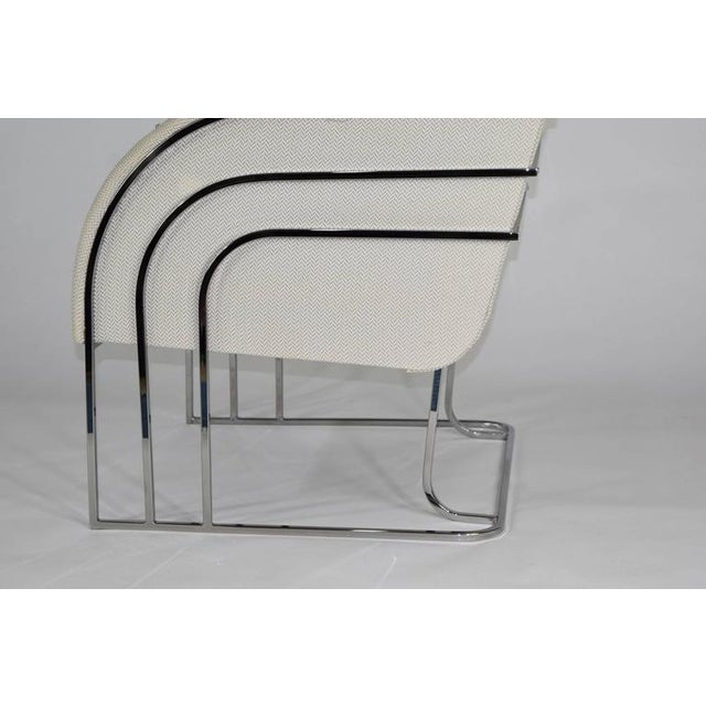1980s Milo Baughman for Thayer Coggin Lounge Chair For Sale - Image 5 of 8