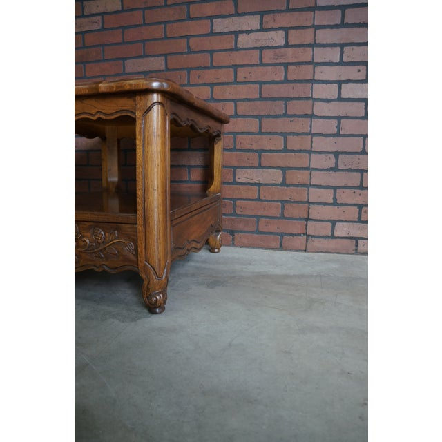 1970s French Provincial Thomasville End Table For Sale - Image 10 of 12