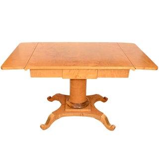 Biedermeier Salon Table For Sale