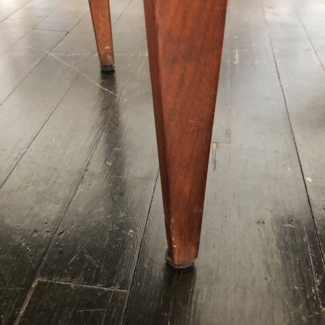 Jens Risom Walnut Side Tables - a Pair For Sale - Image 12 of 13