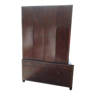 1950's Vintage Center Stage Entertainment Armoire For Sale