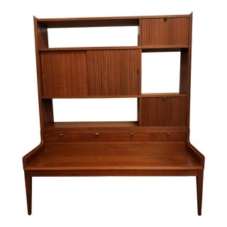 Mid Century Modern Room Divider - 2 Pieces For Sale