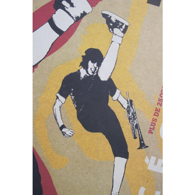Date: 2006 Size: 23.75 x 17.5 Inches Artist: Kemp, Natalie This original vintage poster was designed to promote a rock...