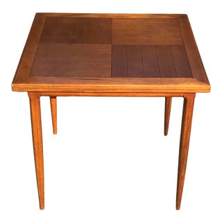 Tomlinson Mid Century Draw Leaf Dining Table For Sale