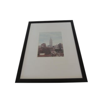 Color Photograph of Empire State Building New York City For Sale