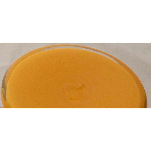 Orange Studio Art Glass Vase For Sale In Boston - Image 6 of 9