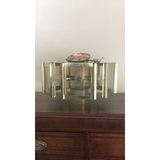 1970s Vintage Fredrick Ramond Brass Hexagonal Pendant Chandelier Preview
