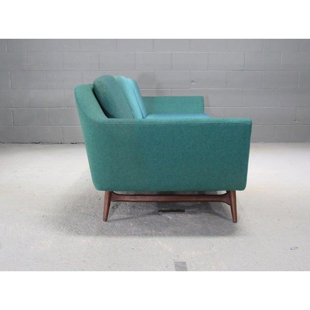 1950s Vintage Danish Modern Sofa For Sale - Image 4 of 5