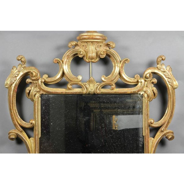 Late 18th Century George III Giltwood Mirror For Sale - Image 5 of 7