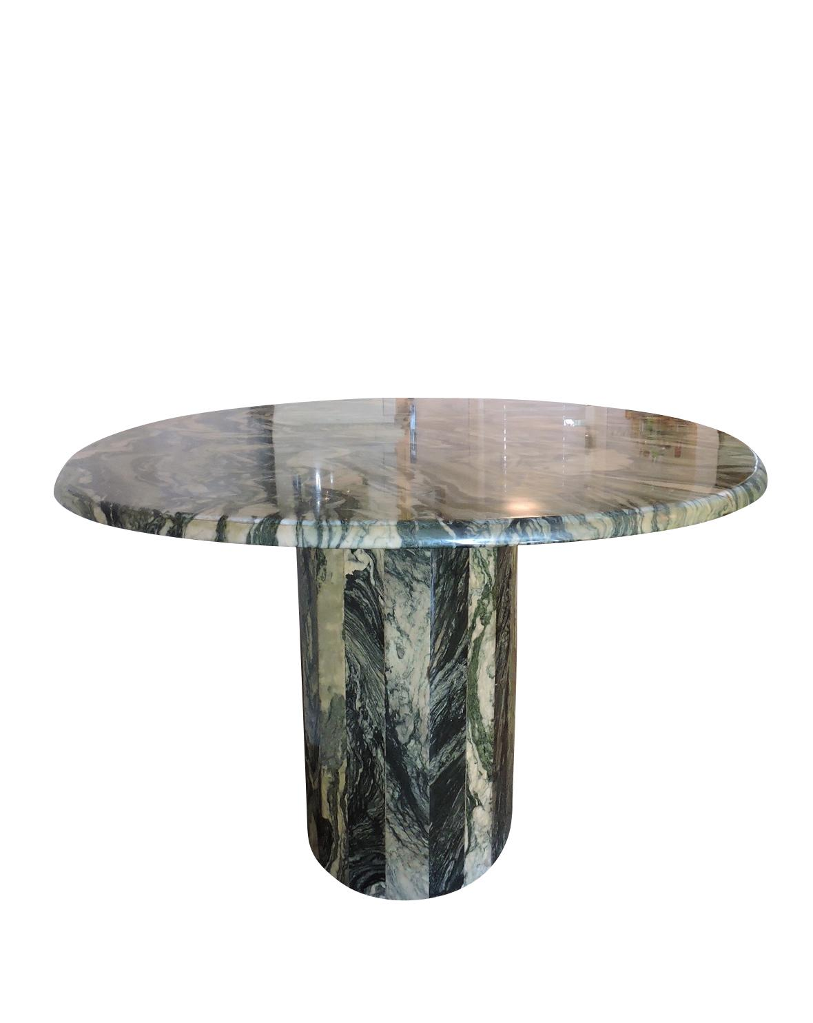Maurice Villency Oval Marble Dining Table   Image 2 Of 6