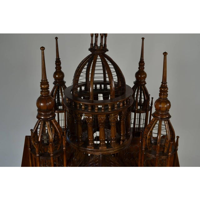 """""""Cathedral"""" Bird Cage For Sale - Image 4 of 7"""