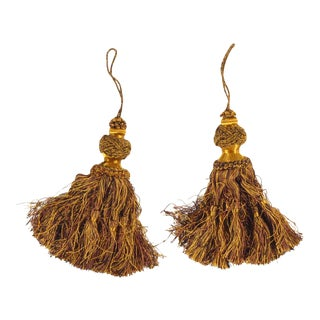 Vintage Tassel Tiebacks - a Pair For Sale
