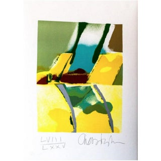 John Chamberlain Flashback 1 Hand Signed Lithograph For Sale