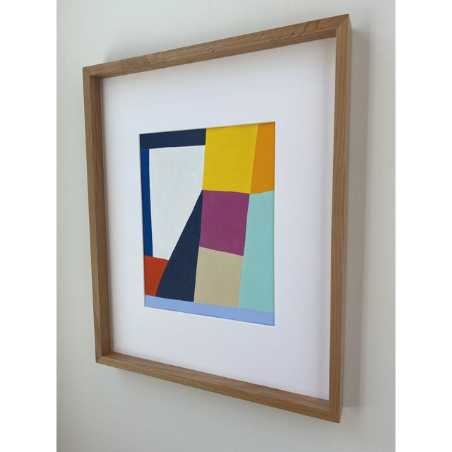 Contemporary Power Field Painting, Framed For Sale - Image 3 of 6