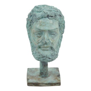 Italian Bronze Patina Bust