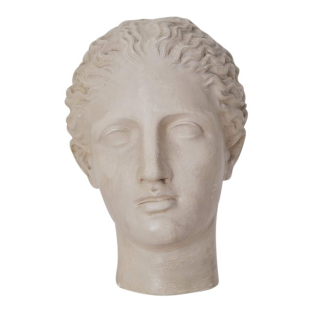 "Caproni & Brothers 1900s Traditional ""Diana of Gabii"" Plaster Mask For Sale"