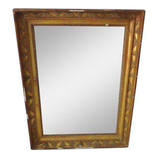 Antique French Gilded Mirror For Sale