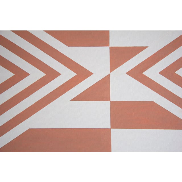 2010s Contemporary Geometric Hard-Edge Painting by Natasha Mistry For Sale - Image 5 of 10