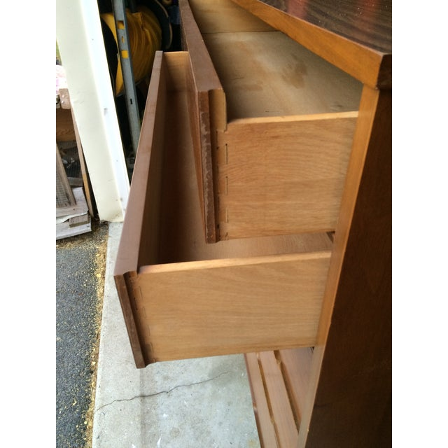 Mid-Century Modern Highboy Chest of Drawers - Image 6 of 7