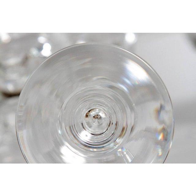 Set of Fifteen (15) Steuben Baluster Water Goblets For Sale - Image 10 of 12