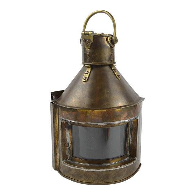 19th Century Marine Starboard Signal Lantern - Image 1 of 6