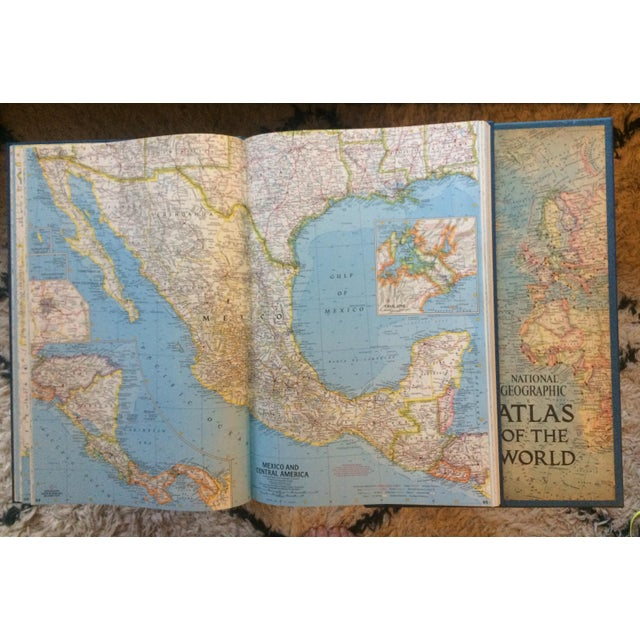 1963 National Geographic Atlas of the World First Edition Book For Sale - Image 9 of 12