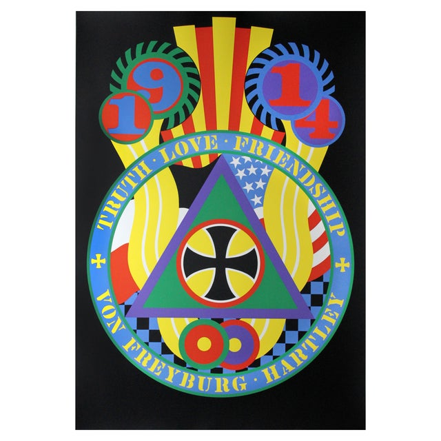 Hartley Elegies: KvF V Serigraph by Robert Indiana - Image 1 of 3