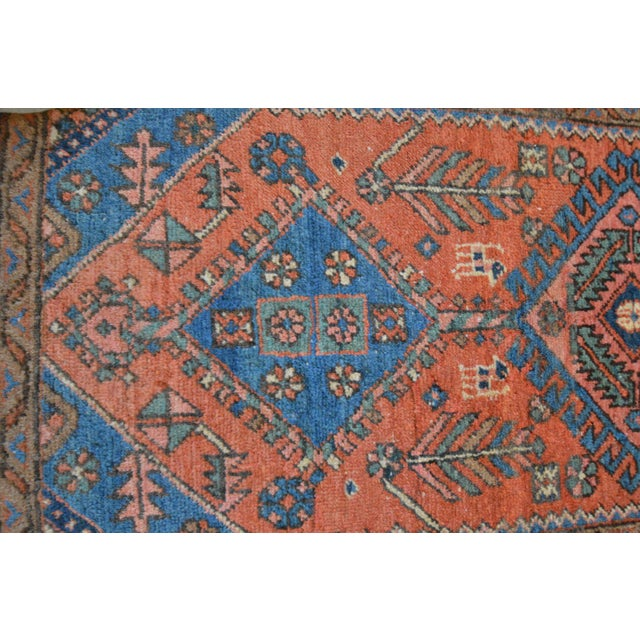 "Antique Persian Heriz Rug - 3' x 5'7"" - Image 8 of 11"