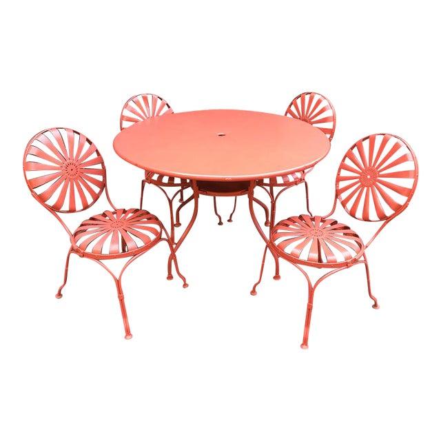 Francois Carré Sunburst Patio Furniture For Sale