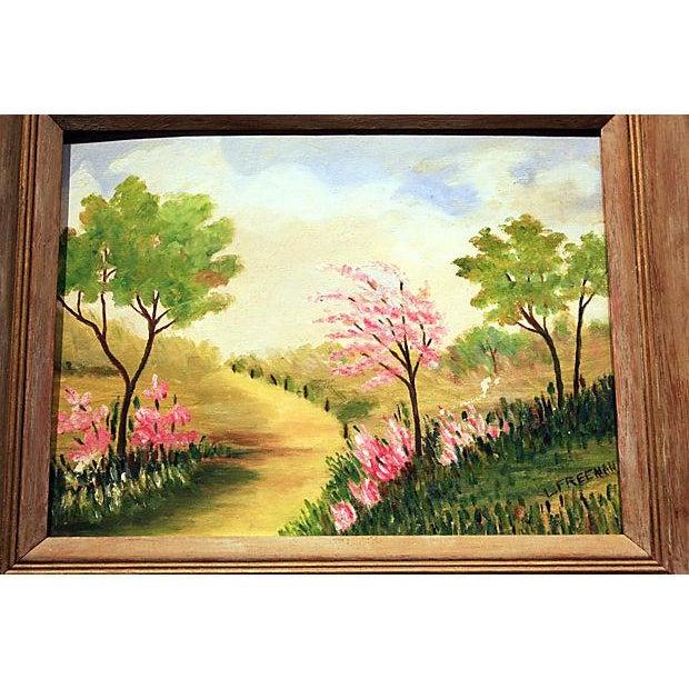 Original Framed Landscape Painting - Image 2 of 5