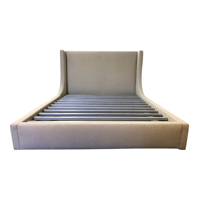 Queen Size Room & Board Marlo Bed Frame For Sale