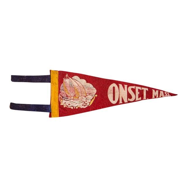 Onset Mass. Felt Flag For Sale