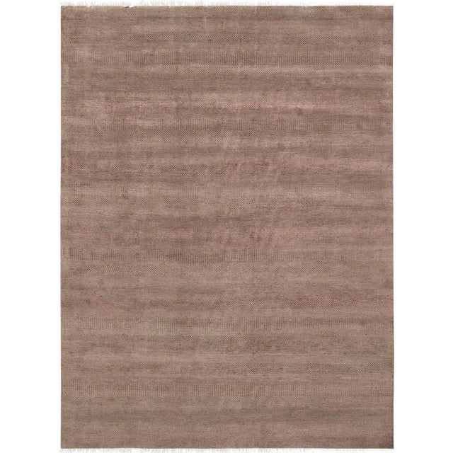 """Pasargad Transitional Silk & Wool Rug - 8'10"""" x 12' 2"""" For Sale"""