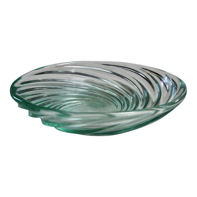"Archimede Seguso Bowl ""Vetro a COSTA,"" Murano, 1951 For Sale"
