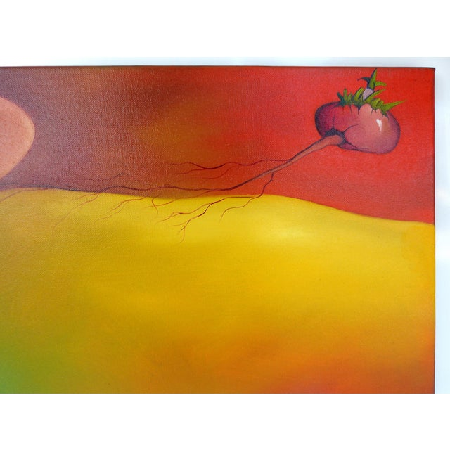 Abstract Oil on Canvas by Cuban-American Artist Juan Navarrete - Image 3 of 8