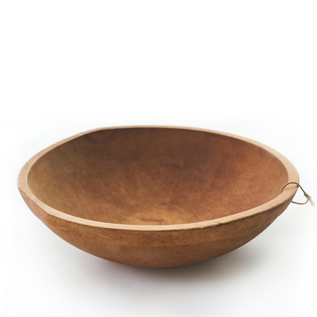 English Wood Dough Bowls - Set of 4 For Sale - Image 9 of 10