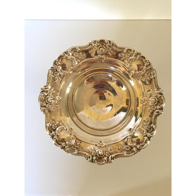 Old Master Towle Silver Pedestal Bowl Candy Dish - Image 4 of 6