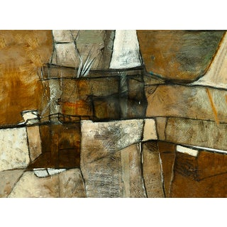 Multi Brown Abstract by Martin Carbajal For Sale