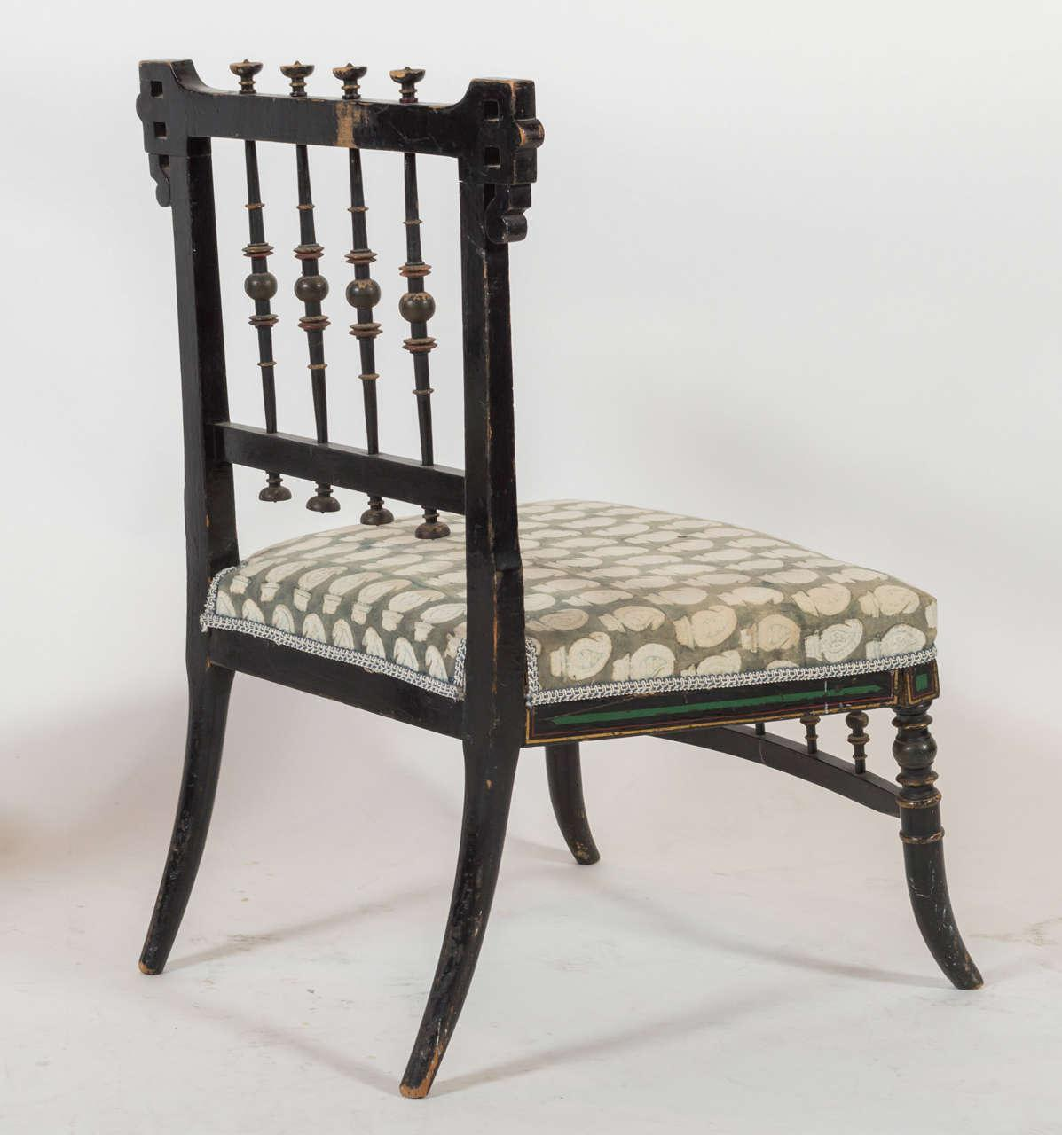 Pair Of Antique Parlor Chairs For Sale   Image 4 Of 9