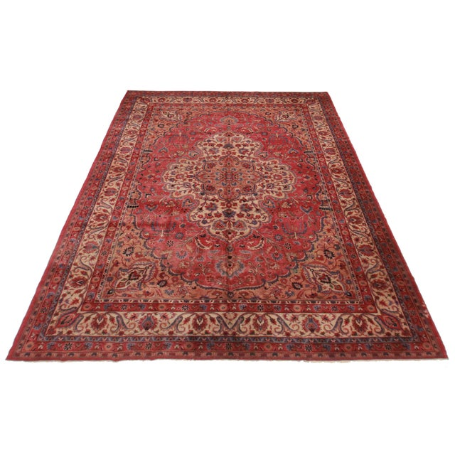 "RugsinDallas Turkish Sparta Wool Rug - 10' X 14'5"" - Image 2 of 2"
