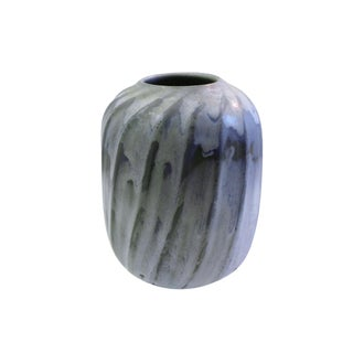 Organic Modern Vase Carved and Decorated by Weston Neil Andersen For Sale