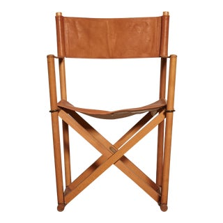1960s Vinage Mogens Koch Mk-16 Safari Chair for Interna, Denmark For Sale